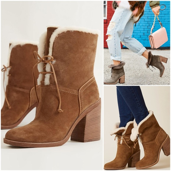 UGG Shoes - UGG JERENE BOOT - chestnut